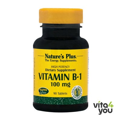 Nature's Plus Vitamin B1 100 mg 90  tabs