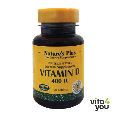 Nature's Plus Vitamin D 400IU 90 tabs