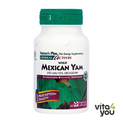 Nature's Plus Wild Mexican Yam 250 mg 60 caps
