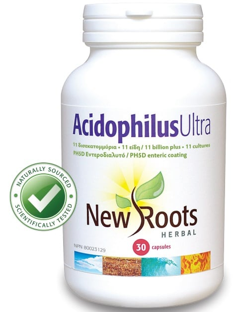 New Roots Acidophilus Ultra 30 caps
