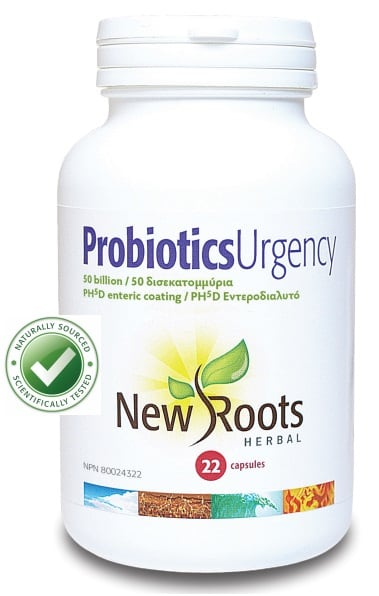 New Roots Probiotis Urgency 50 Billion 22 cap