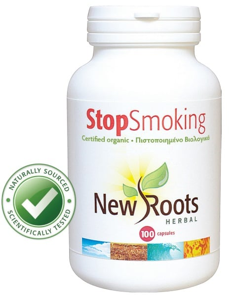 New Roots Stop Smoking Certified Organic 100 caps