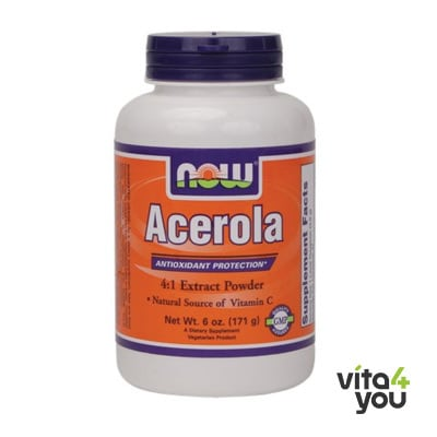 Now Acerola Powder Vegeterian 170 gr