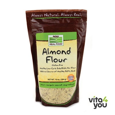 Now Almond Flour Pure 284 gr