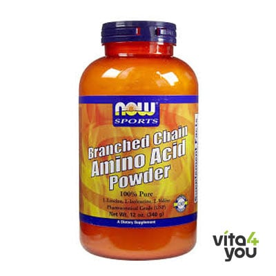 Now Branched Chain Amino Acid Powder (BCAA) 340 gr
