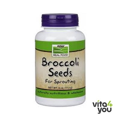 Now Broccoli Seeds Sprouts 113 gr
