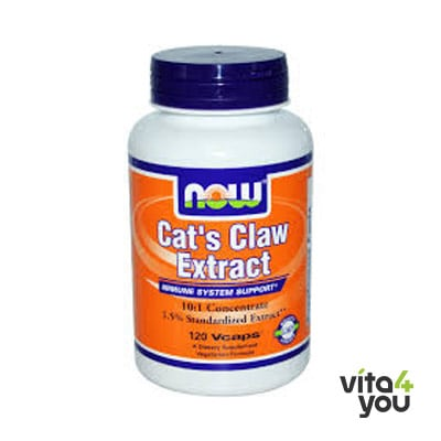 Now Cat's Claw Extract Concetrated 60 Vcaps