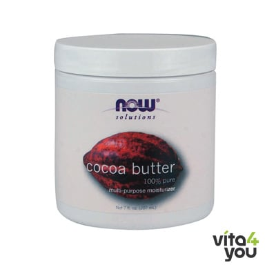Now Cocoa Butter (100% Pure) 207 ml