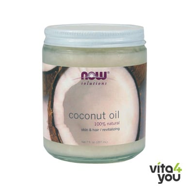 Now Coconut Oil for hair & skin 207 ml