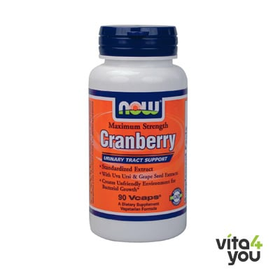 Now Cranberry Maximum Strength 90 vcaps