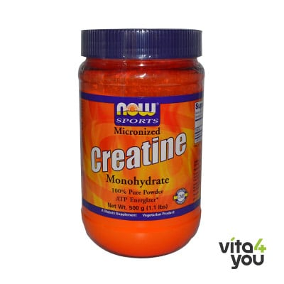 Now Creatine Monohydrate 500 gr