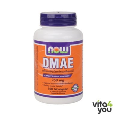 Now DMAE 250 mg 100 Vcaps®