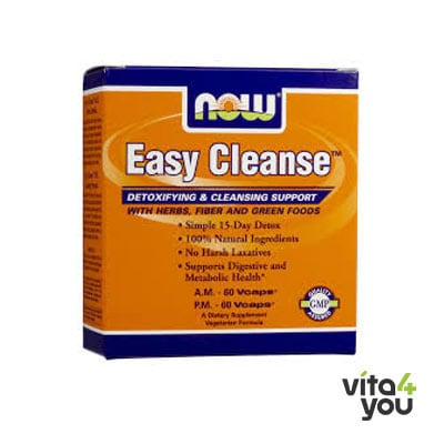 Now Easy Cleanse™ A.M. 60 Vcaps®, P.M. 60 Vcaps