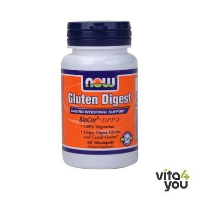 Now Gluten Digest Enzymes 60 vcaps