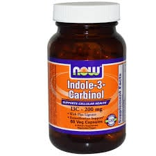Now Indole 3 Carbinol (I3C) 200 mg 60 vcaps