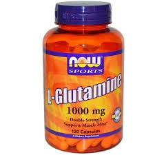 Now L-Glutamine 1000 mg 120 caps