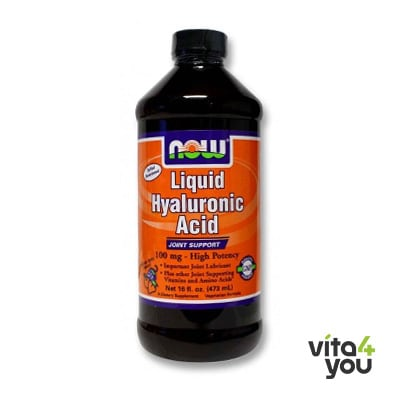 Now Liquid Hyaluronic Acid 100 mg 473 ml
