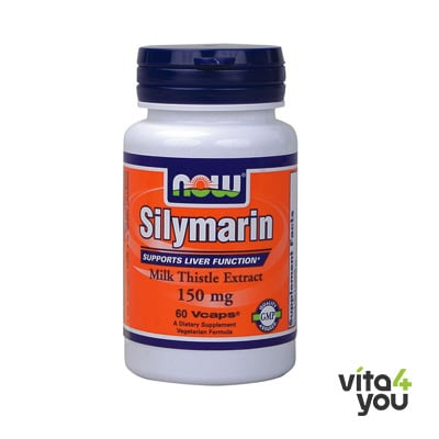 Now Milk Thistle/Silymarin 150 mg 60 Vcaps