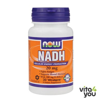 Now NADH 20 mg 30 V caps