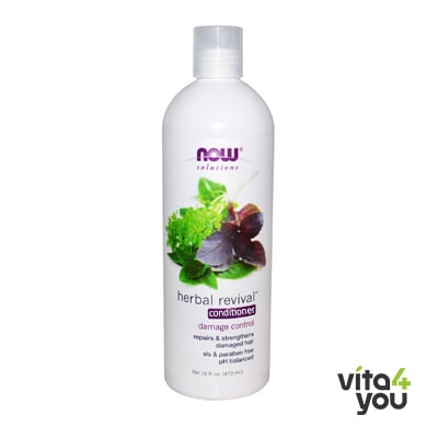 Now Natural Herbal Revival Conditioner 473 ml