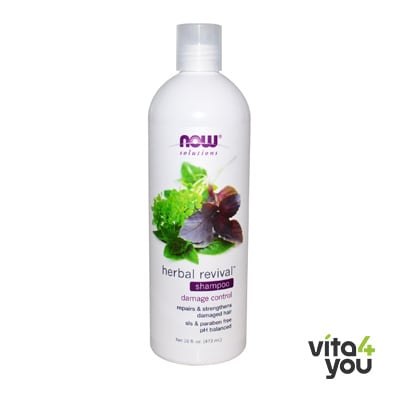 Now Natural Herbal Revival Shampoo 473 ml