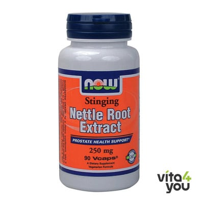 Now Nettle Root Extract 250 mg 90 vcaps