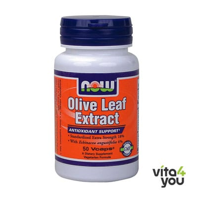 Now Olive Leaf Extract Extra Strength 50 vcaps