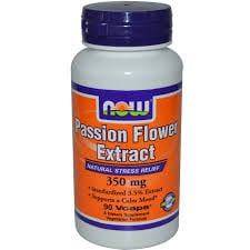Now Passion Flower Extract 350 mg 90 vcaps