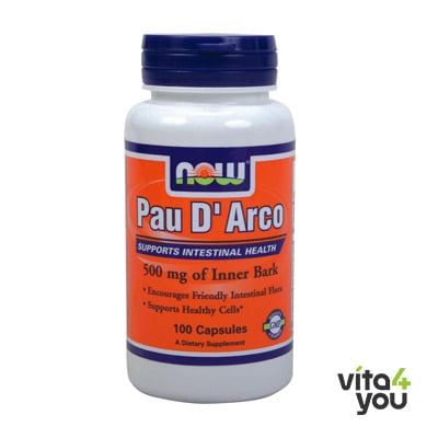 Now Pau D' Arco 500 mg 100 caps