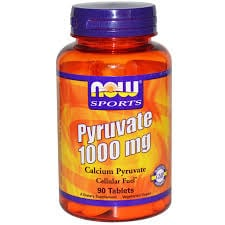 Now Pyruvate 1000 mg 90 tabs