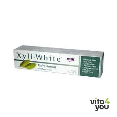 Now Οδοντόκρεμα Xyliwhite Refreshmint 181 gr