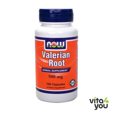 Now Valerian Root 500 mg 100 caps