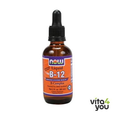 Now Vitamin B-12 Liquid Complex Vegeterian 59 ml