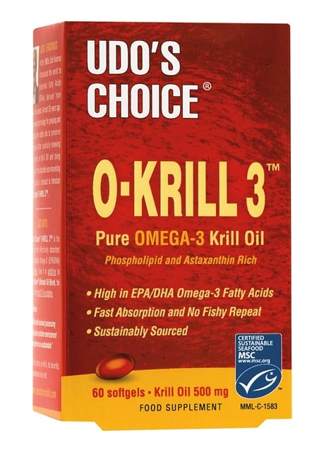 MedMelon Flora Udo's Choice O-Krill 3 60 softgels