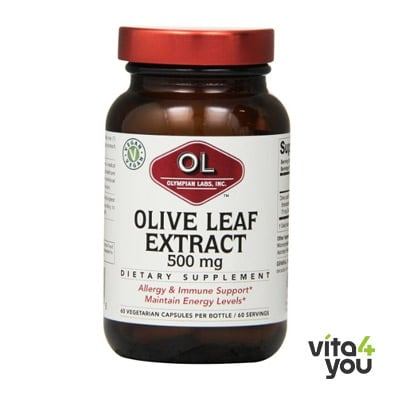 Olympian Labs Olive Leaf extract 500 mg 60 caps