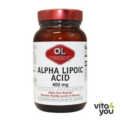 Olympian Labs Super Alpha Lipoic Acid 400 mg 60 caps