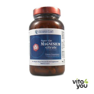 Olympian Labs Magnesium Citrate 100 caps