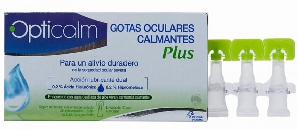 Opticalm Soothinh Eye Drops plus 10 τμχ