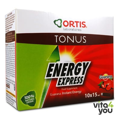 Ortis Energy Express 10 amp x 15 ml