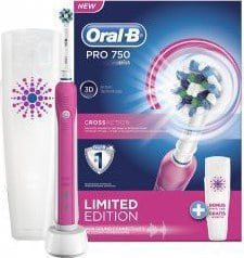 Oral-B Pro 750 CrossAction Limited Edition Pink