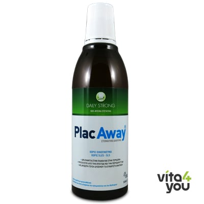 Plac Away Daily Mouthwash Strong 500 ml