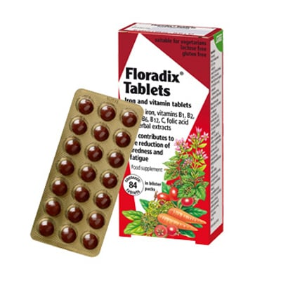 Power Health Floradix 84 tabs