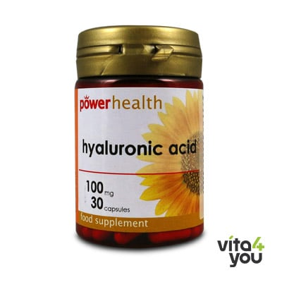 Power Health Hyaluronic acid 100 mg 30 caps