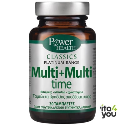 Power Health Classics Platinum Multi + Multi time 30 tabs