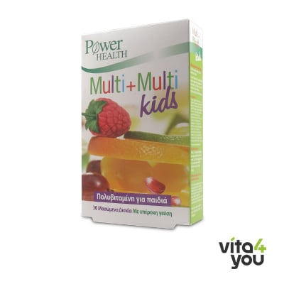 Power Health Multi+Multi Kids 30 chewable tabs
