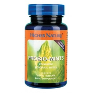 Higher Nature Probiomints 60 chewable tabs