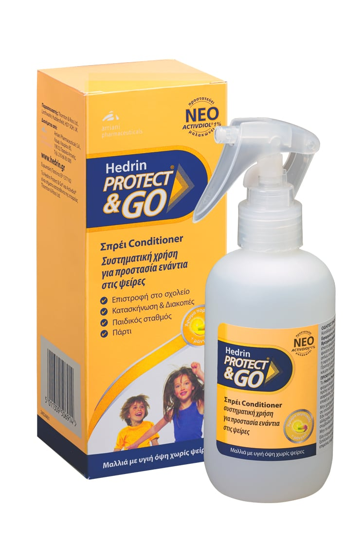 Hedrin Protect & Go Conditioner spray 200 ml