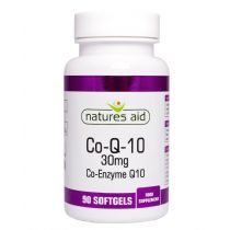 Nature's Aid CoQ10 30 mg 30 softgels