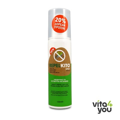 Repelkito Spray 120 ml