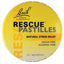 Dr Bach Rescue Pastilles orange flavour 50 gr